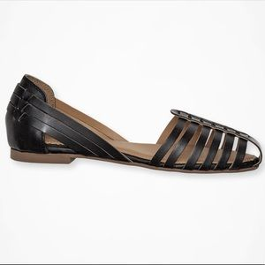 """""""Sidney"""" Flat Leather Sandals"""